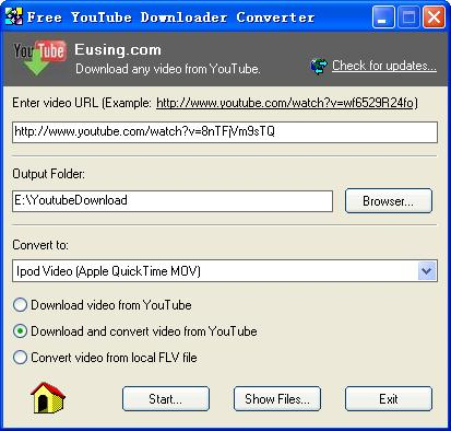 YouTube Download and Convert