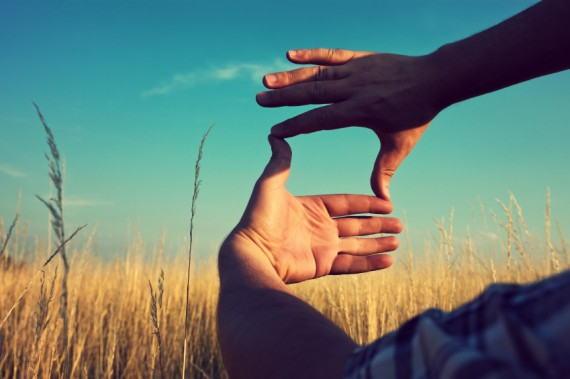 busca un punto, enfoca tu visión y adelante.