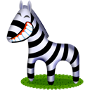 El zebra de Africa