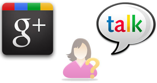 Google Talk and Google Plus