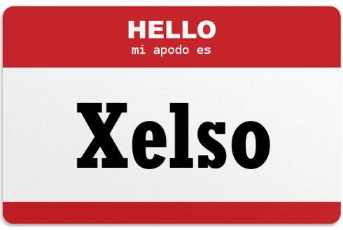 Mi apodo es Xelso