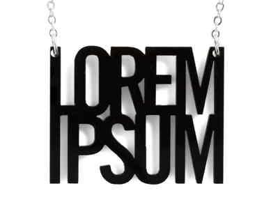 Collar Lorem Ipsum