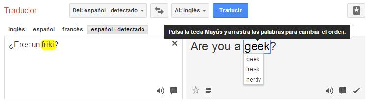 Personaliza tus traducciones