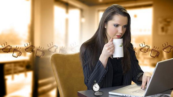 Crea tu momento de café virtual, para compartir con otras personas.