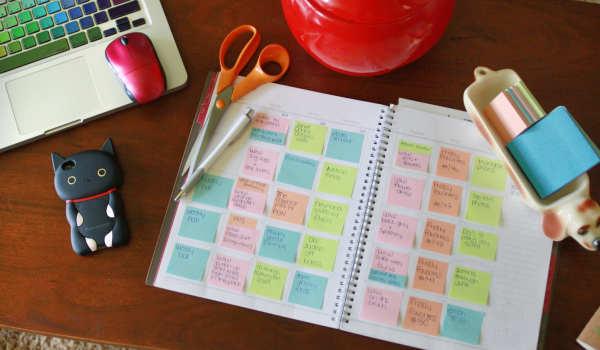 Calendario de blogs y post