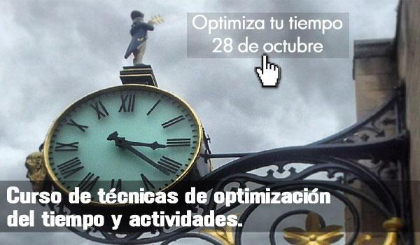 Curso de Ténicas de optimización del tiempo y activiades