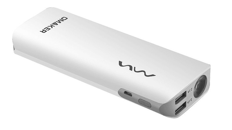 Ejemplo de Power Bank de 10000mAh Omaker